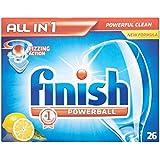 Terminer All in 1 Powerball Lave-vaisselle comprimés Lemon (26) - Paquet de 6