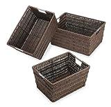 Whitmor 6500-1959 Rattique Baskets, Java...