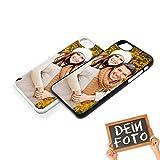 PixiPrints Handyhülle für Apple iPhone-Serie mit eigenem Foto und Text * Bedrucktes Schutz Cover Case, Hardcase Apple:Apple iPhone 7, Hardcase Farben:Weiß