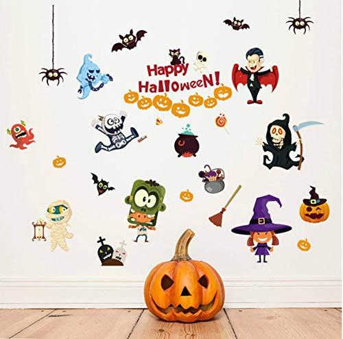 (Your boy-HT Halloween-Geisterhauselfen Mit Xpress-Kinderzimmerschlafzimmerwohnzimmerwandaufklebern Befestigten Hausausstattungshintergrund)