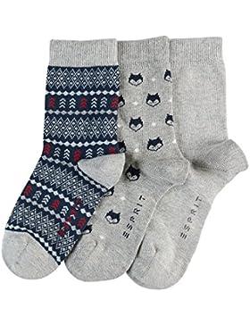 ESPRIT Winter, Calcetines para Niños (Pack de 3)