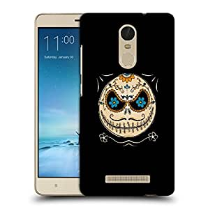 Snoogg Mustahce Face Designer Protective Back Case Cover For REDMI NOTE 3