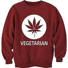 Impreso Unisex Veg la camiseta de ropa de invierno cálido