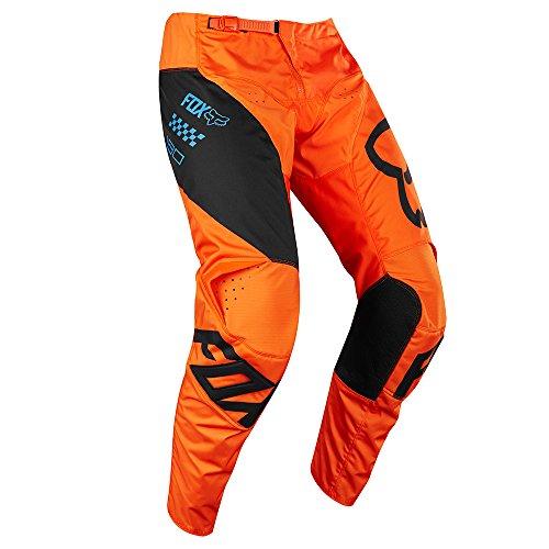 Fox Pants 180 Mastar, Orange, Größe 32 Fox Motocross Hose