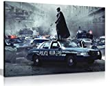 Leinwandbild zum Film Batman Dark Knight mit Heath Ledger, Kunstdruck, A1 76x51 cm (30x20in)