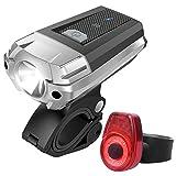 LED Fahrradlicht, Sahara Sailor Fahrrad Beleuchtung Rücklicht Frontlichter Set USB wiederaufladbar...
