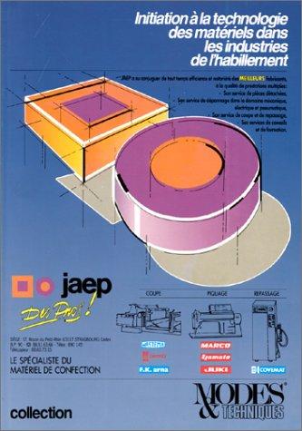 Initiation à la technologie des matériels dans l'industrie de l'habillement par Lauriol