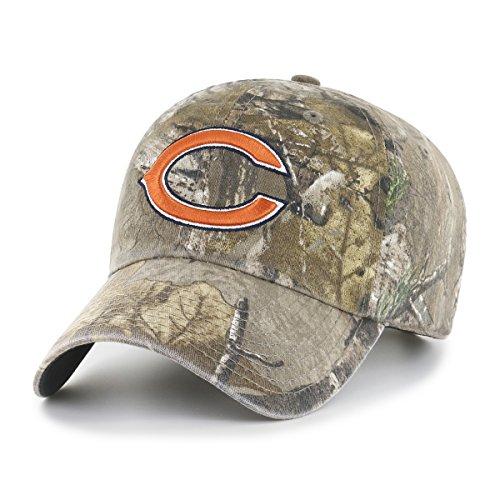 NFL Realtree OTS Challenger verstellbar Hat, unisex - erwachsene, NFL Realtree OTS Challenger Clean Up Adjustable Hat, Realtree Camo, ()
