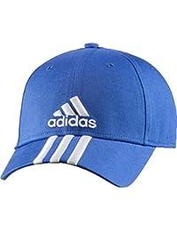 adidas Perf Cap 3S CO - Gorra unisex, color azul / blanco