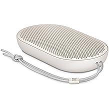 B&O PLAY by Bang & Olufsen Beoplay P2 Tragbarer Bluetooth-Lautsprecher (mit integriertem Mikrofon) sand stone