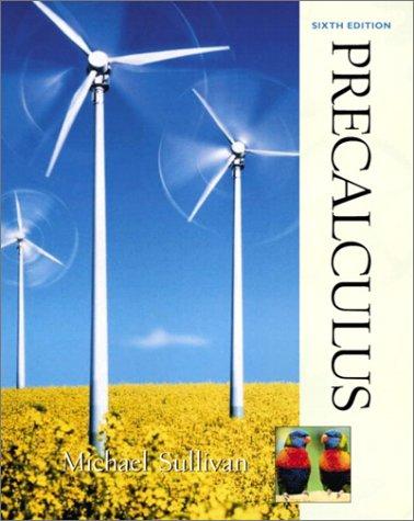 Precalculus (Sullivan Precalculus) por Michael Sullivan