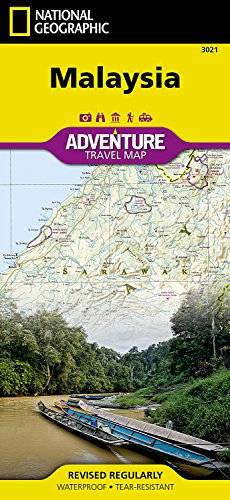 Malaysia Travel Maps International Adventure Map (National Geographic Adventure Travel Maps)