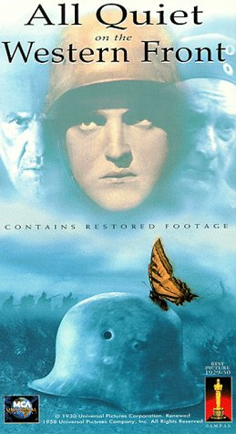 Preisvergleich Produktbild All Quiet on the Western Front in VHS format