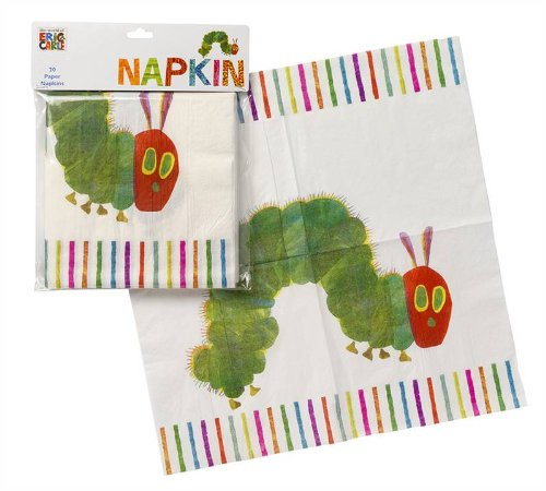 Talking Tables The Very Hungry Caterpillar Handtuch 33 cm