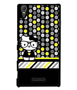 PrintVisa Designer Back Case Cover for Sony Xperia T3 (Love Lovely Attitude Men Man Manly)