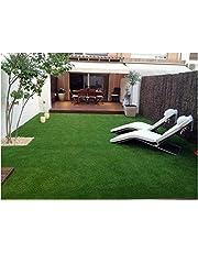 Kuber Industries High Density Artificial Grass Carpet Mat (5 x 10 ft, Green, GrassCT113)