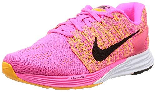 Nike Wmns Lunarglide 7, Scarpe da Corsa Donna Rosa (Pink Blast / Black-Lsr Orng-Wht)