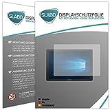 Slabo 2 x Bildschirmschutzfolie kompatibel mit Samsung Galaxy TabPro S Bildschirmschutz Schutzfolie Folie No Reflexion   Keine Reflektion MATT