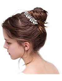 Peineta para novia con cristales de Gracewedding