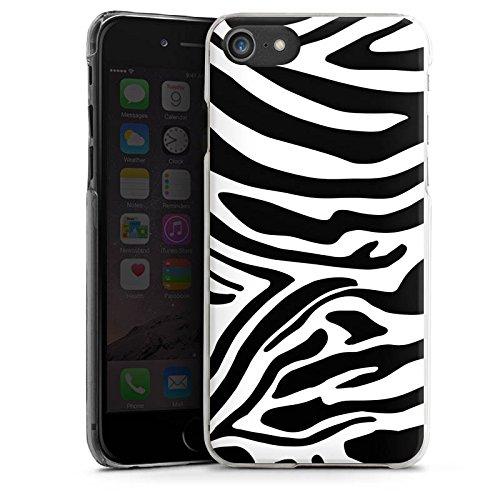Apple iPhone 6 Plus Silikon Hülle Case Schutzhülle Zebra Animal dschungel Hard Case transparent