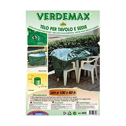 Verdemax 6820100x 60cm, rotondo, per tavolo e