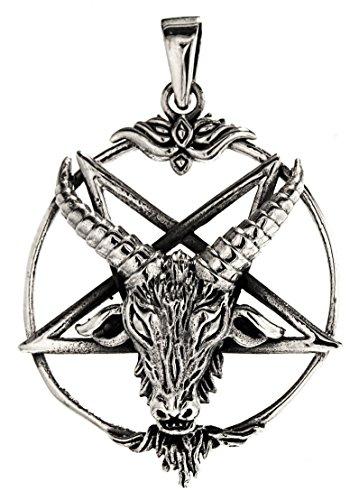Kiss of Leather Pentagramm Anhänger aus 925 Sterling Silber Nr. 230
