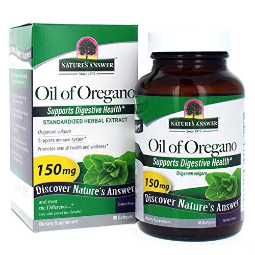 Die Antwort der Natur standardisierter Extrakt Supplement Oil of Oregano 90 Kapseln 215684