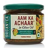 #9: Organica Homemade Mango Pickle Aam Ka Achaar in Olive Oil 300gm