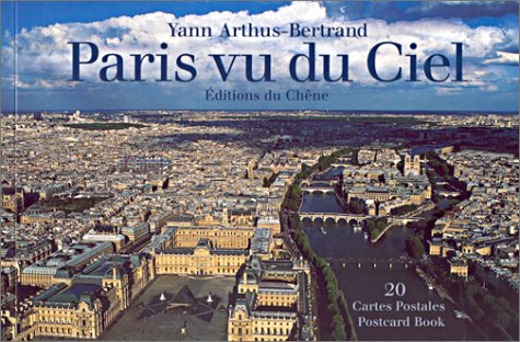 Paris vu du ciel : 20 cartes postales détachables