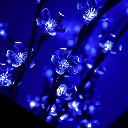 1.5M Pre-Lit LED Cherry Blossom Tree with 150 Blue Lights Outdoor / Indoor [7252]