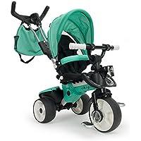 INJUSA Triciclo City MAX, Color Verde, 21 x 10 x 5 cm (3270)