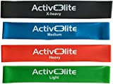 ActiveElite ✮ 4 verschiedene Fitnessbänder