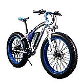 RICH BIT® TP012 1000 W E-Bike eBike Cruiser Fahrrad Radfahren 48 V 17 Ah hohe...
