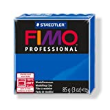 Manualidades: 1 pan pasta Fimo Professional 85 gr, color azul Ref 8004 – 300