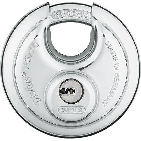 Abus 25/70KD B 70mm Corpo Acciaio Inox High Tech Disco (Kd Lucchetto)
