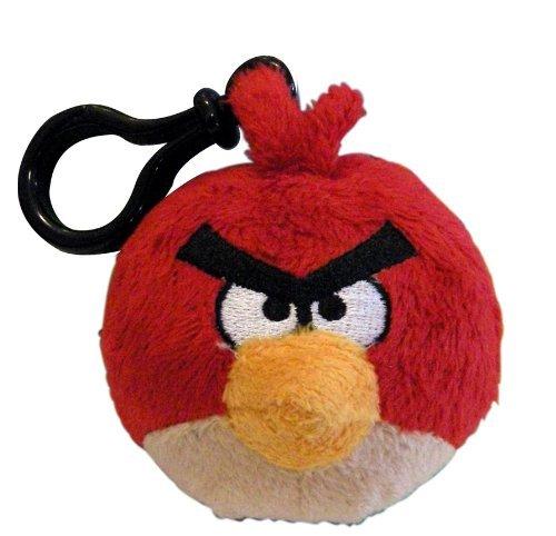 51FAMlKLYjL - Red Bird: Angry Bird ~ Mochila de 6,35 cm Mini Plush Serie Clip