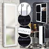 Portagioie Armadio Specchiera - 120 x 36 x 10 cm - Gioielleria da Appendere Parete - Organizzatore per Gioielli con Specchio - Armoire, Armadietto