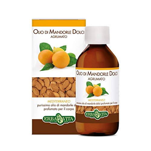 Erba Vita Olio Mandorle Dolci Agrumato - Flacone da 250 ml