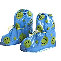 Kvbaby Shoes Cover Waterproof Rain Overshoes Slip-resistant Snow Shoes Cover Reusable Rain Boot For kids