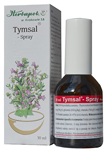 Halsschmerzen Schleim (Thymian und Salbei Tinktur in Spray - effektives Mittel bei Halsschmerzen, Halsentzündung, Zahnfleischentzündung, für einen frischen Atem, wirkt antibakteriell und schleimlösend, 30ml)