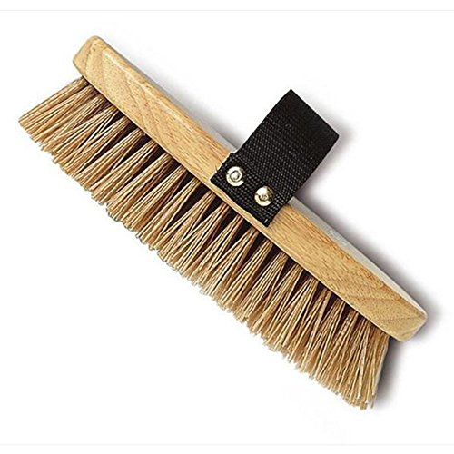 Cottage-Craft-Oval-Mud-Brush-With-Stiff-Bristles-Horse-Hand-Whilst-Grooming