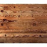 decomonkey Fototapete Holz 400x280 cm XXL Design Tapete Fototapeten Vlies Tapeten Vliestapete Wandtapete moderne Wand Schlafzimmer Wohnzimmer Braun Orange FOB0168a84XL