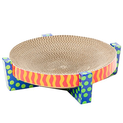 petstages-394-easy-life-scratch-snuggle-and-rest-cat-scratcher-and-rest