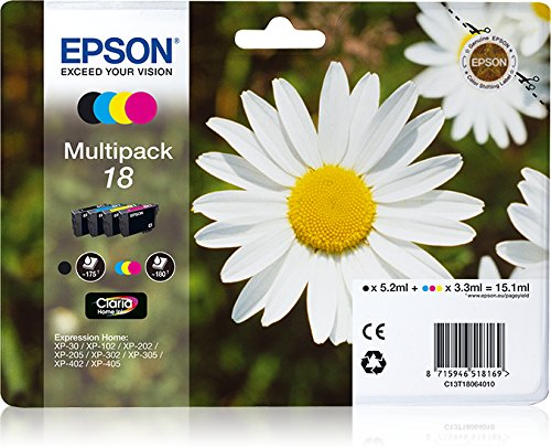 Epson Multipack 18 4 colores etiqueta RF   Cartucho