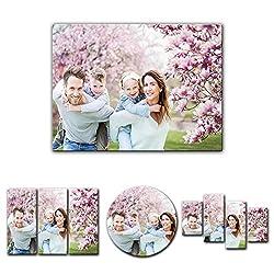 Leinwandbild - mit Ihrem Wunschmotiv - Digital-Format - 50x40 cm / 40x50 cm - Mein Foto auf Leinwand - SOFORT VORSCHAU - Eigenes Bild - Dein Wunschmotiv aufgespannt auf Bilderrahmen