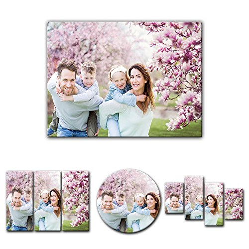 nd - Wunschmotiv - Digital-Format - 40x30 cm / 30x40 cm - Deine eigene individuelle Foto-Leinwand - SOFORT VORSCHAU - Eigenes Bild - Dein Wunschmotiv aufgespannt auf Bilderrahmen ()