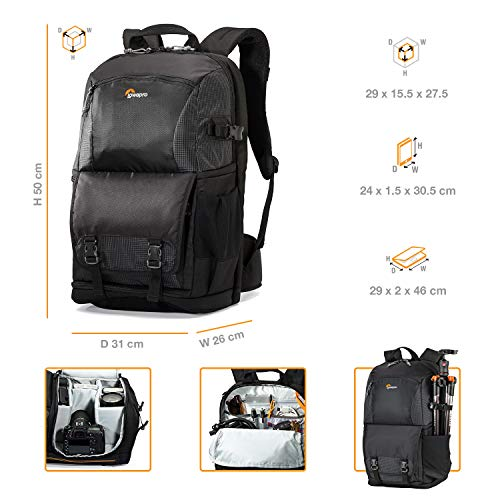 Lowepro Fastpack BP 250 AW II Kameratasche schwarz