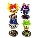 Hasbro - Yo Kai Watch 1388223. Set de 4 personajes.