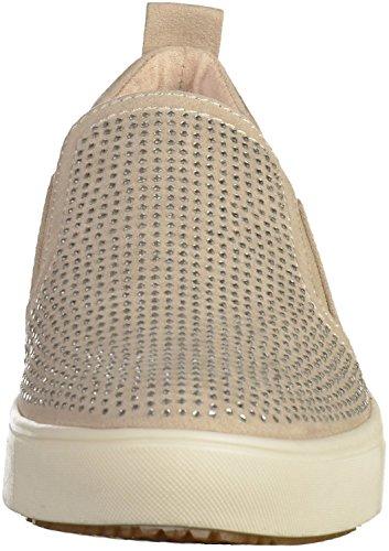 Pistone di signore beige avorio Tamaris 1-24609-418 tessile Infilare Beige