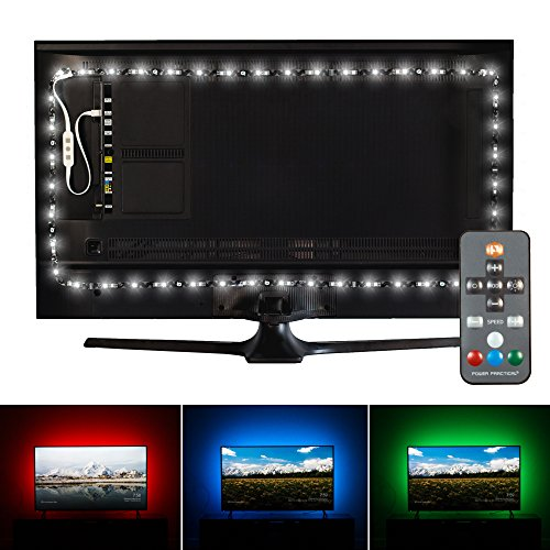 "Luminoodle Professional Bias Lighting for HDTV | fits 30""- 40"" TV 